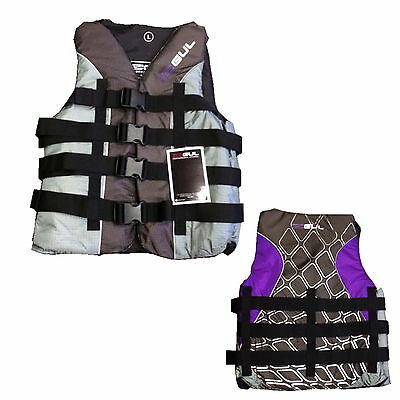 GUL ADULT 4 BUCKLE IMPACT VEST LARGE - buoyancy jetski 50N watersports