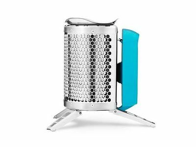 NEW BIOLITE Cook Stove USB Rechargeable Camping Stove Wood Burning TEAL Color