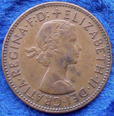 UK - 1/2 penny 1965 KM# 896 Elizabeth II Pound Coinage 1952-71 - Edelweiss Coins