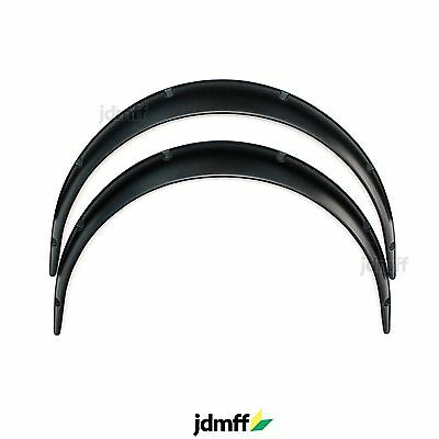 "JDM Universal Fender Flares ABS overfenders wide body set 2.75"" (70mm) 2pcs."