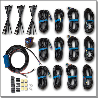 MicroMAX LED Rock Lights Pro-Pack 12 Piece