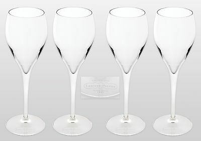 Laurent - Perrier Branded Champagne Glasses X 4 New