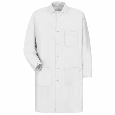 ESD Anti-Static Premium Lab Jacket Coat Unisex White 1st Quality Size XL X Large