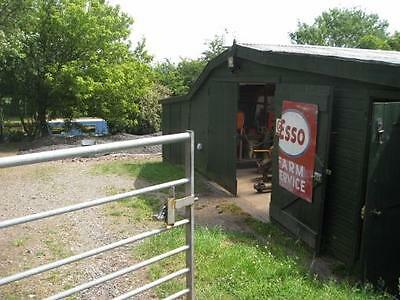 UK Property and boat: Canal Mooring, 1 Acre Smallholding, Barn, Narrowboat