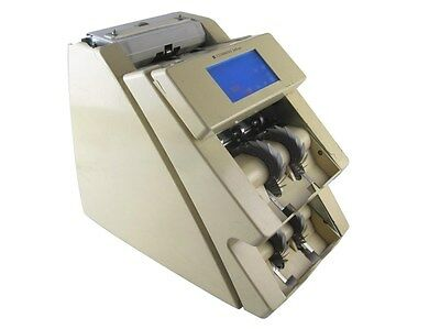 Cummins Jetscan 4096 Dual Two Stack Money Bill Counter Scanning Counting Machine