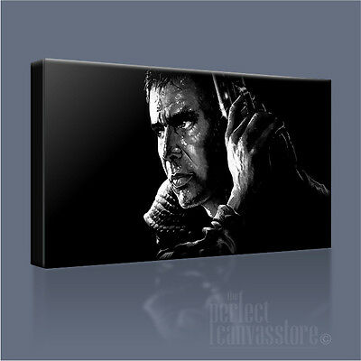 SUPERB BLADE RUNNER #2 CANVAS QUALITY CLASSIC SCI-FI CANVAS PICTURE FREE P/&P