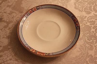 J and G Meakin Saucer in Nebraska Pattern