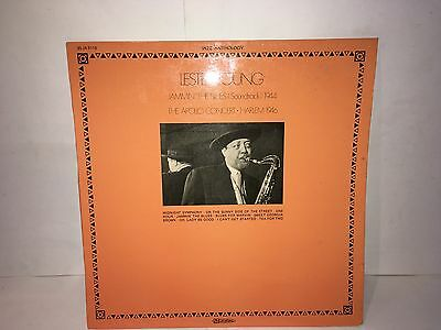 Lester Young Jammin The Blues The Apollo Concert Lp