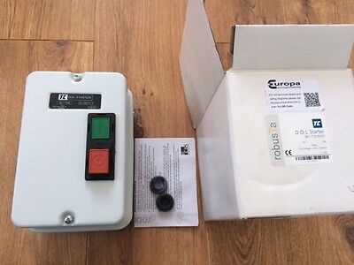 Europa Components DOL Starter BE1T2535N7 415V 50/60Hz New In Box
