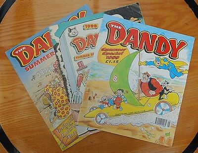 The Dandy Summer Special - 3 editions