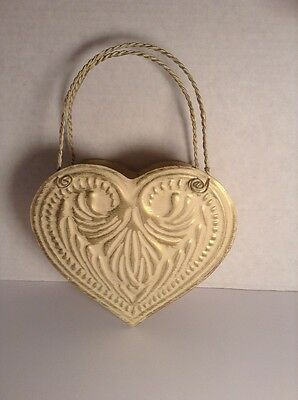 Metal Heart Wall Pocket Hanging Home Decor
