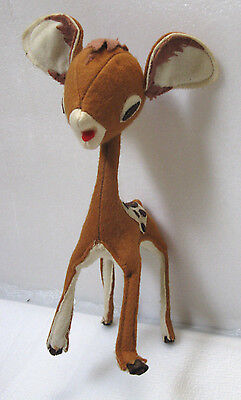 Vintage 1950s Deer Fawn, Dream Pet, Stuffed Toy Collectible