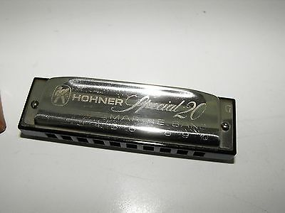 Vintage Hohner Special 20 Harmonica No 560/20 With Original Case Made In Germany