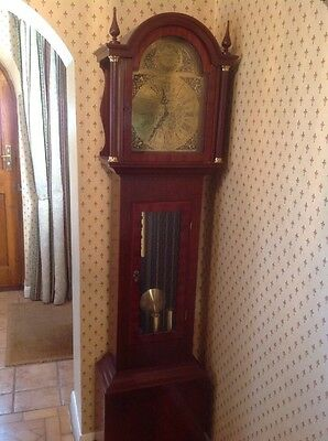 8 Day, Weight Driven Grandfather Clock, EJ Goodfellow, Wadebridge.