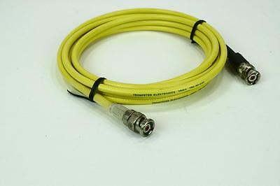 Trompeter PTRY-120-50 TRIAX 3-Lug & 2-Lug BNC Conn 10ft TRC-50-2 Triaxial Cable