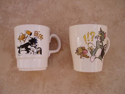 Vintage Tom and Jerry Mugs