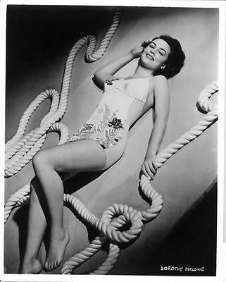 DOROTHY MALONE young CHEESECAKE SWIMSUIT photo (bv18)