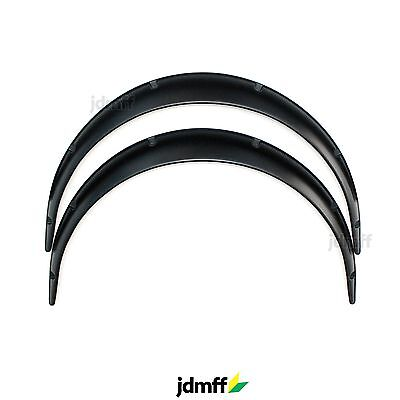 Universal JDM Fender Flares over wide body wheel arches ABS 70mm 2pcs
