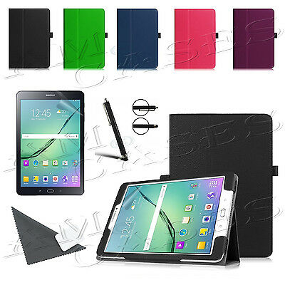 "Smart Flip Leather Stand Case Cover For Samsung Galaxy Tab A 7"" 9.7"" 10""  E 9.6"""