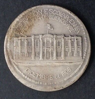 1806 Argentina Construction of Local School Medallion