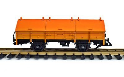 LGB Covered gondola, Conversion from G Gauge to Spur II (64mm), used