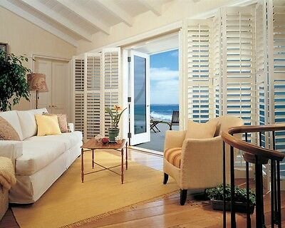Timber Basswood Plantation Shutters Custom Made Buy Direct from Sydney Factory