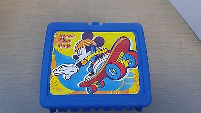 Disney Mickey Mouse Thermos Plastic Lunch Box