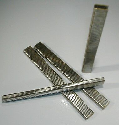 "1/4"" Inch Narrow Crown Staples 18 gauge 5/8"" Inch Long (5,000 pcs) GALVANIZED"