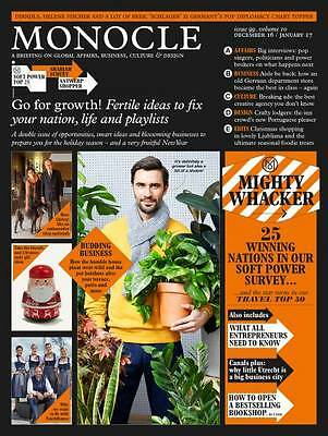 Monocle Magazine December/January 2017 : Go for Growth!