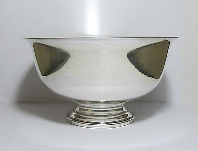 "Antique Frank Whiting Sterling Silver Bowl Paul Revere Reproduction 7.25"" 357 G"
