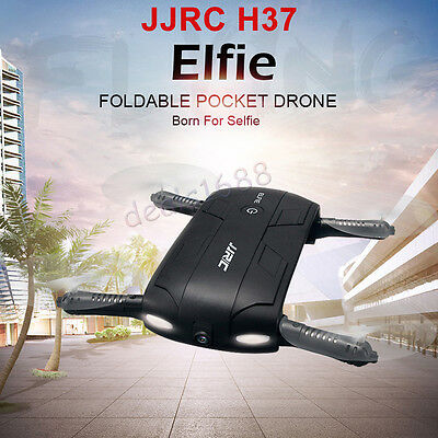 JJRC H37 Foldable Altitude Hold w/ HD Camera WIFI FPV RC Quadcopter Drone Selfie