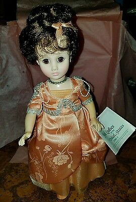 Madame Alexander first lady doll collection Ellen Wilson mint 15""