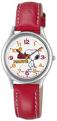 [Citizen queue and queue] CITIZEN Q & Q watches PEANUTS (peanut) Snoopy cha