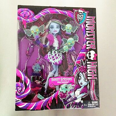 Monster High Sweet Screams Abbey Bominable Doll - New in Box