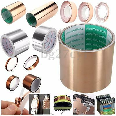 Polyimide High Temperature Copper Copper Foil Tape Self Adhesive Heat Resistant