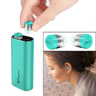 True Wireless Bluetooth Headphones Headset Earbud with Portable Charging Case