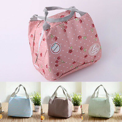 Picnic Thermal Cooler Insulated Lunch Box Waterproof Tote Kid Food Storage Bag