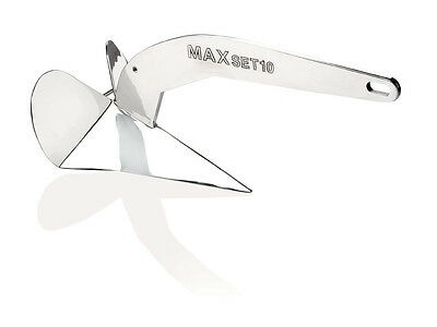 MAXWELL 10 kg / 22 lb Maxset anchor Stainless Steel