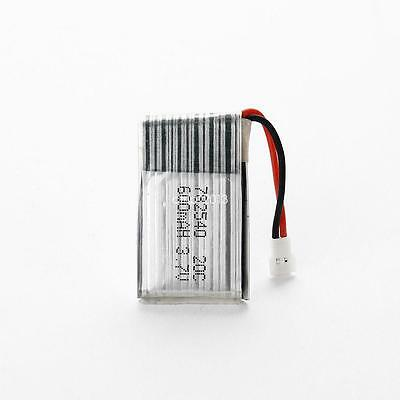 Universal Li-Po Spare Battery 3.7V 20C 650mAh with PCB for RC Quadcopter Model