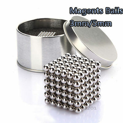 216pcs 3/5mm Magic Beads Puzzle Balls Sphere Ball DIY Creative toy For Children