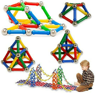Boy Girl Magnetic Construction Building Educational Blocks Kid Child Toys Gift