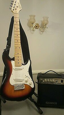 Electric guitar and amplifier also Acoustic Guitar