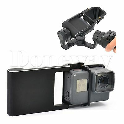 Gopro Hero 5/4/3+ Camera Adapter Switch Mount Plate for DJI Osmo Mobile Gimbal