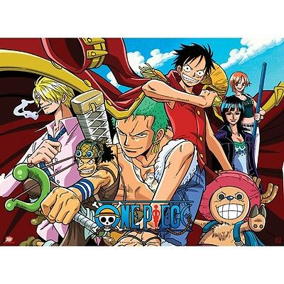 "One Piece Poster ""Pirates - All Stars"" (52x38cm)"