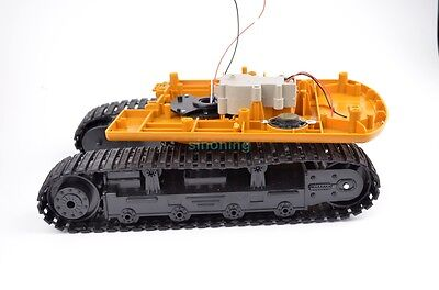 Robot Tank excavator Chassis crawler digger rugged strong 580 degree turning