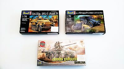 1:76 LOT 3 maquettes AIRFIX, REVELL