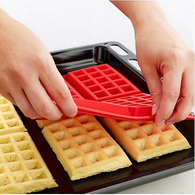1Pc Waffles Chocolate Pan Silicone Mold Cooking Tools Kitchen Accessories