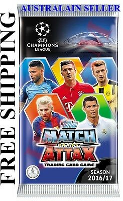 UEFA Champions League Soccer Match Attax 2016/2017 Edition Trading Card box (50)