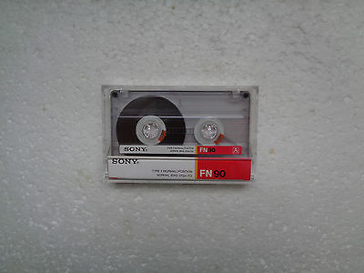 Vintage Audio Cassette SONY FN 90 From 1986 - Fantastic Condition !!