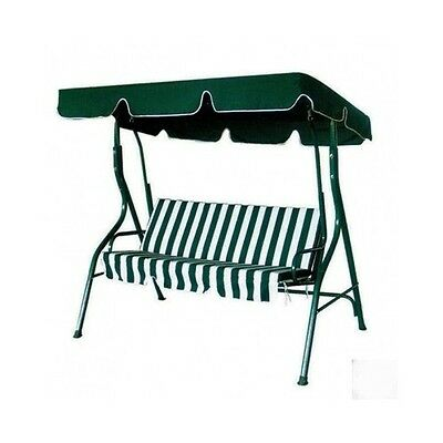 Outdoor Swing Chair 3 Seater Steel Frame Patio Camping Garden Yard Furniture New
